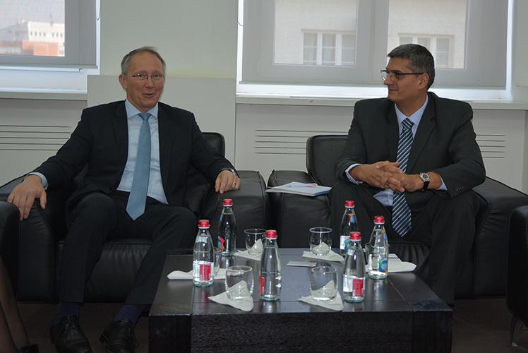 Ministar Rikalo se sastao ambasadorom Mađarske Laslom Markuzom
