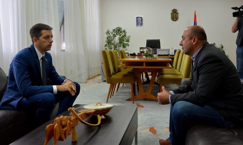 Ђурић се захвалио Божидару Дејановићу, кандидату за градоначелника Клокота