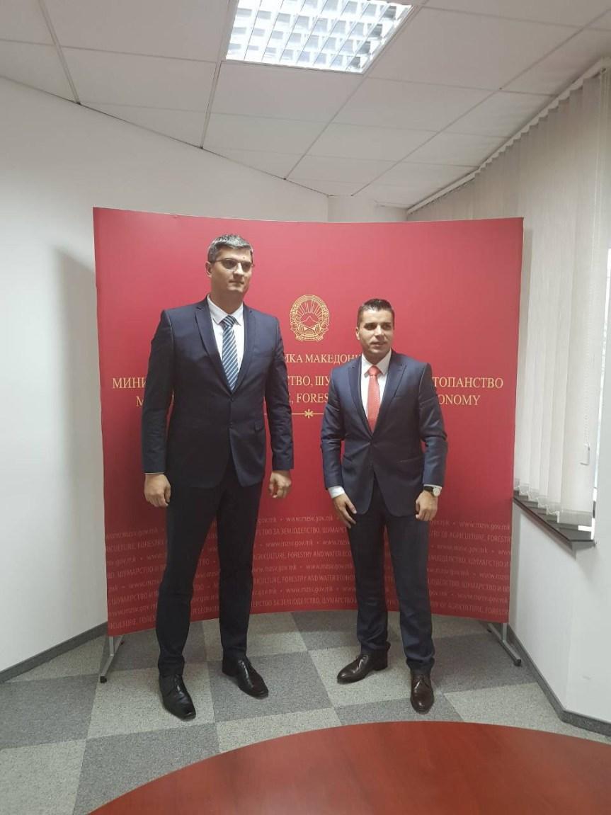 Министри пољопривреде Косова и Македоније о фитосанитарним искуствима и извозу вина