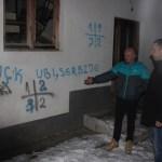 Графити: УЧК и Убиј Србина на школи у Угљару