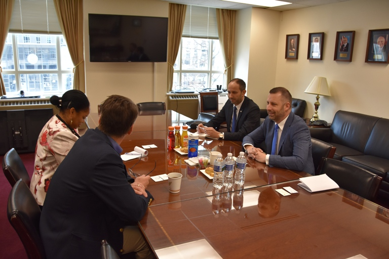 Јевтић са америчким представницима Хелсиншке комисије: Повратак је далеко од жељеног