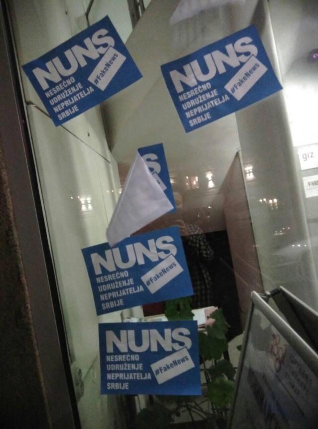 Новинарска удружења: Пронаћи и казнити одговорне за напад на НУНС
