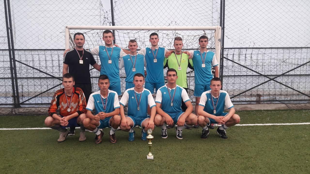 Zlatni pehar u futsalu za muški tim Ekonomsko – trogovinske škole Laplje Selo – Priština