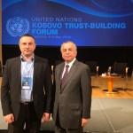 Поповић у Љубљани: Присуство УН-а важно за одржавање трајног мира