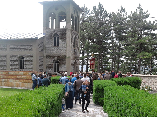 У манастиру Гориоч прослављен Свети Никола