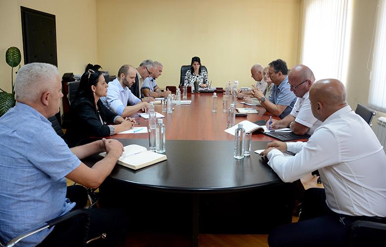 Управљачки тим за успостављање ЗСО са директорима центара за социјални рад