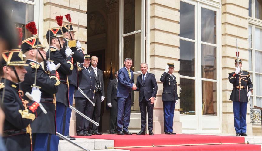 Весељи: Имамо снажну подршку Француске за интеграцију Косова у Европску Унију