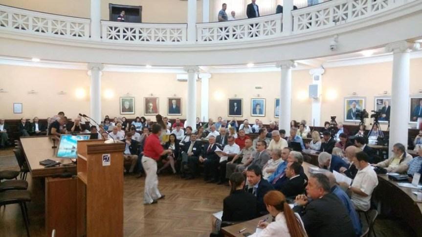 Двери на првом Међународном научном симпозијуму у Нишу о последицама бомбардовања