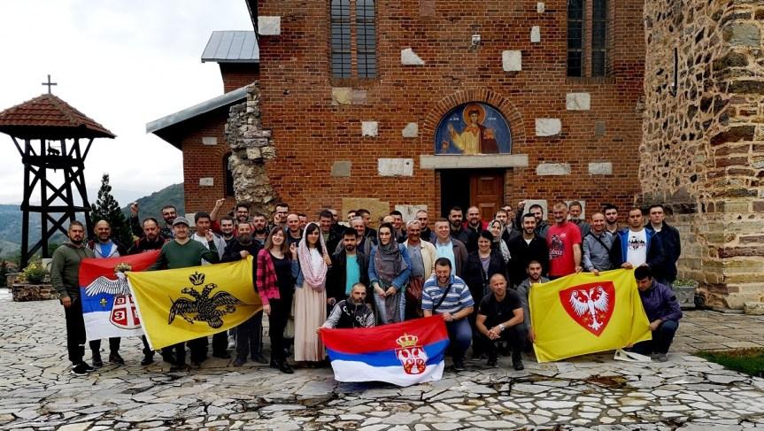 Народни посланици и чланови Двери за Видовдан на Косову и Метохији
