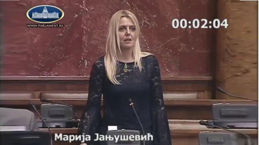 Јањушевићева у Скупштини Србије: Да ли је тачно да ЕУ саставља документ о нормализацији односа?
