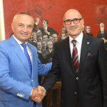 Косовски министар унутрашњих послова Бејтуш Гаши код председника Албаније.