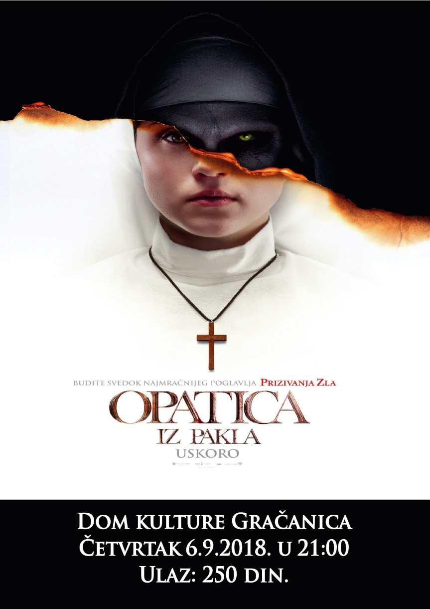 """Грачаница:  Две нове биоскопске премијере """"Мисија спашавања света"""" и """"Опатица из пакла"""""""
