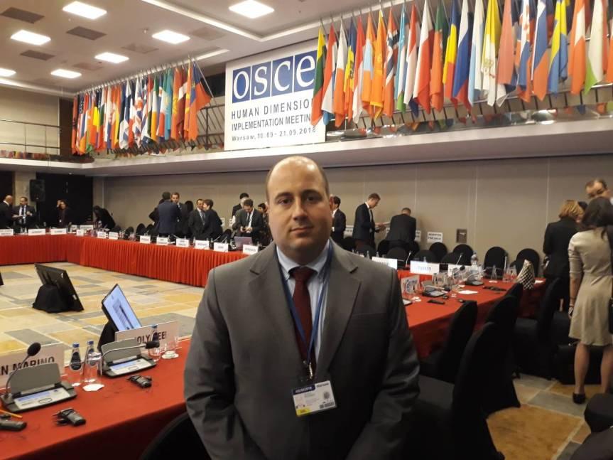 Козарев на конферецији ОЕБС-а: Србија остаје посвећена миром проналаску решења за косовски чвор