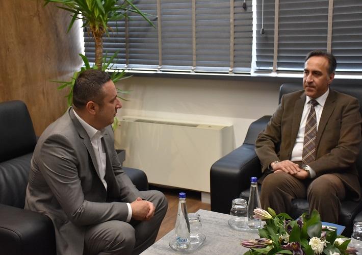 Поповић се састао са новим шефом УНХЦР-а на Косову