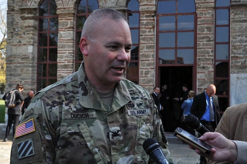 Nik Dučić nije želeo da komentariše transformaciju KBS u vojsku Kosova