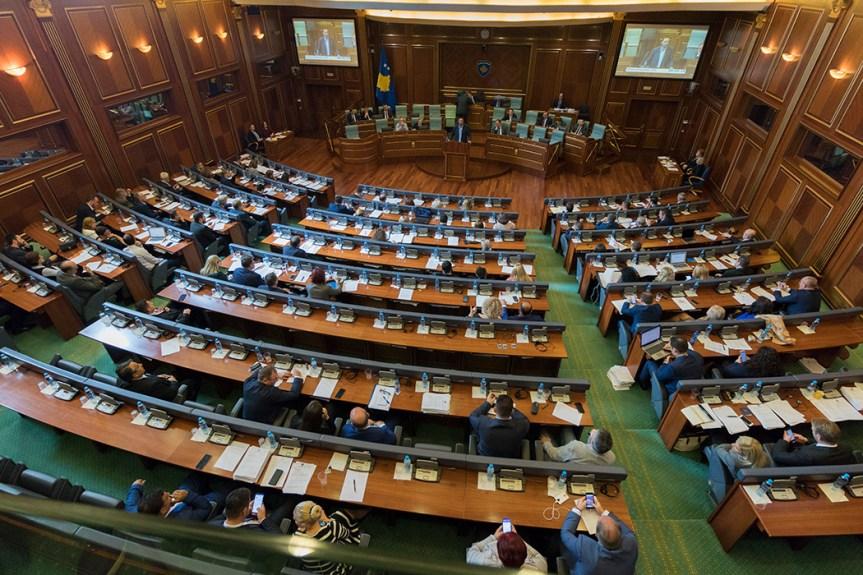 Скупштина Косова данас о Буџету за 2019, Нацрту закон о платама. У току гласање за Нацрт закона о реформи јавне управе и независних агенција