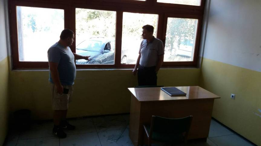 Napadači pod okriljem noći razbili prozorska stakla na ambulanti u povratničkom selu Novake