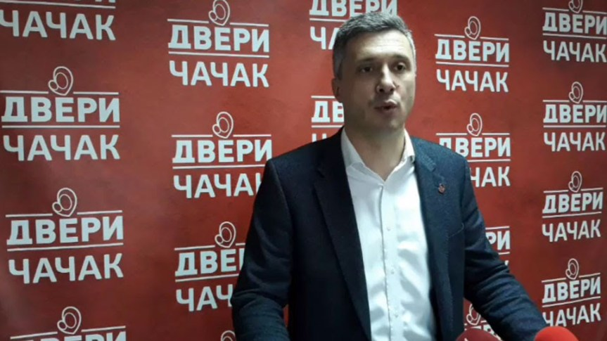 Протестно окупљање поводом напада на Борка Стефановића