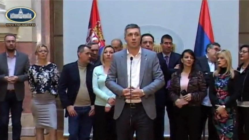 Бошко Обрадовић: Протест опозиције из Скупштине сели се на улице!