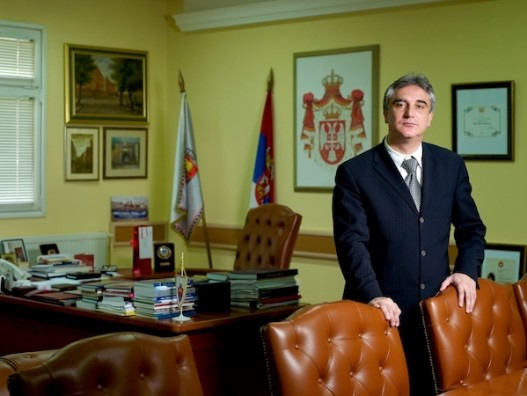 Професор Здравко Витошевић вршилац дужности ректора Универзитета у Приштини са привременим седиштем у КМ