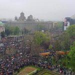 """Велики протести опозиције у Београду """"Сви као један"""""""