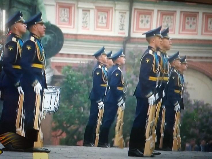 Detalj sa parade u Moskvi - Vojni orkestar