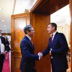 Kadri Veseli se sastao sa potpredsednikom Atlantskog saveta Dejmonom Vilsonom