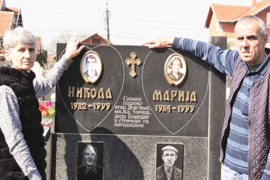 Данас је дан када је НАТО убио 15 српске деце, међу њима Николу и Марију Петровић из Грачанице