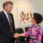 Norveški ambasador na Kosovu sastao se sa ministarkom za administraciju i lokalnu samoupravu