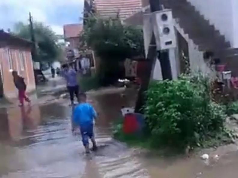 Poplavljeno romsko naselje u Preocu