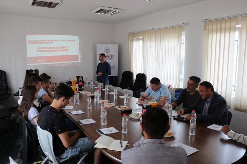 Омладински савет Партеша за успешнију сарадњу са локалном самоуправом