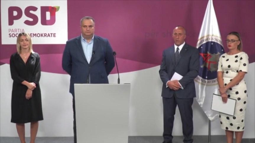 Прва званична предизборна коалиција, Харадинај и Ахмети