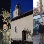 Бадњак стигао у цркву у Ђаковици
