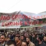 Трећа литија Епархије-рашко призренске у знак подршке СПЦ у Црној Гори