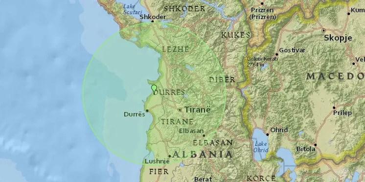 Нови земљотрес погодио Тирану и Драч