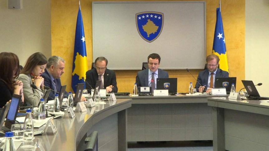 Састанак Владе Косова под Шар планином