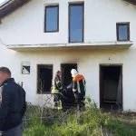 Запаљена српка кућа у селу Новаке код Призрена