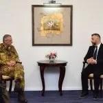Далибор Јевтић са међународним званичницима о нападима на Србе и њихову имовину
