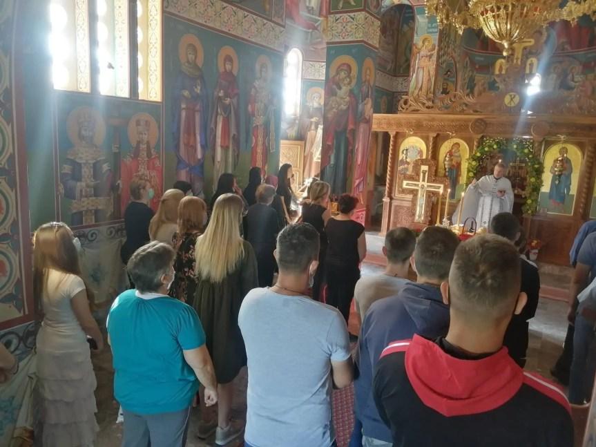 Обележена слава храма Светог Преображења у Прилужју