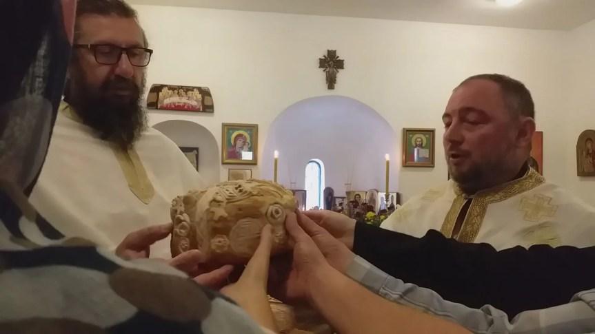 Свечано у манастиру Светих Архангела код Призрена