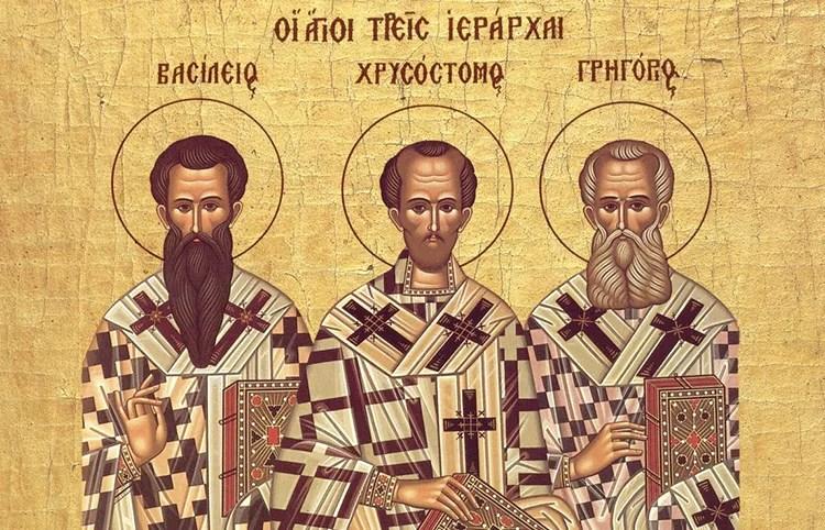 Данас је слава Света три јерарха
