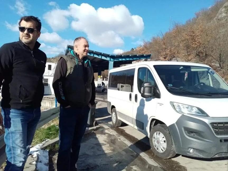 Екипа РТС враћена са прелаза Јариње