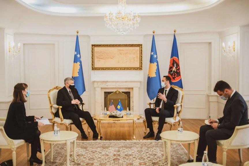 Коснет и Коњуфца о даљој сарадњи САД и Косова