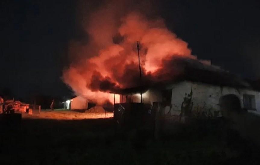 У Старом Грацку изгорела кућа породице Тепшић