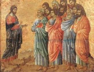 Jesus addresses the Diciples