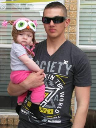 Ann Marie and Uncle Esteban