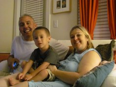 Papa Pete, Brodie and Grammy Shell