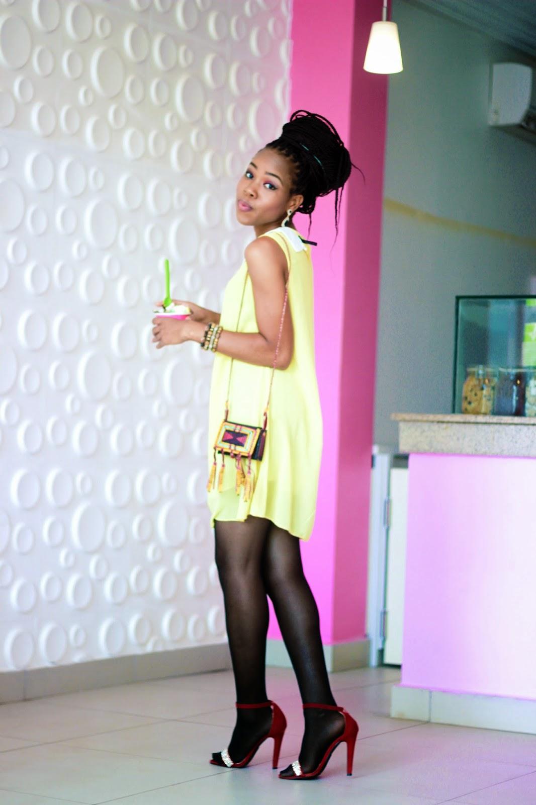 PERFECT YELLOW DRESS(BIRTHDAY GIRL)