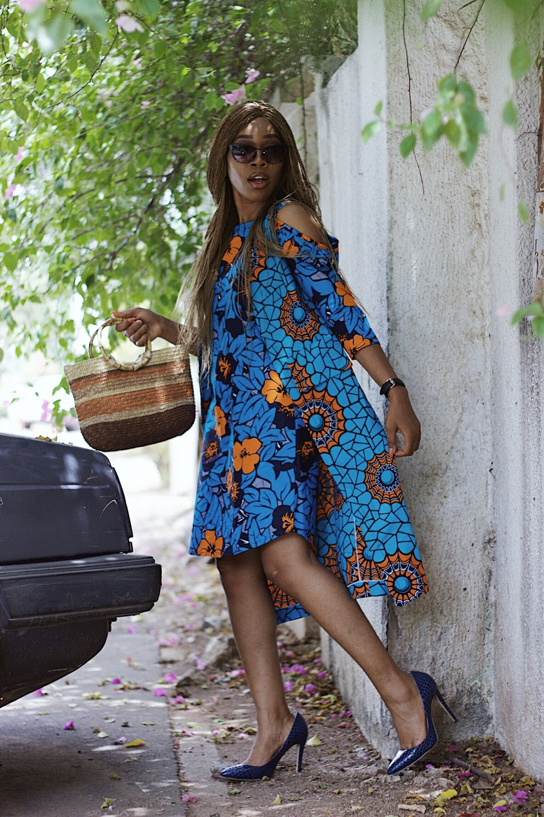 HOW TO STYLE AN UNCONVENTIONAL ANKARA TWO PIECE