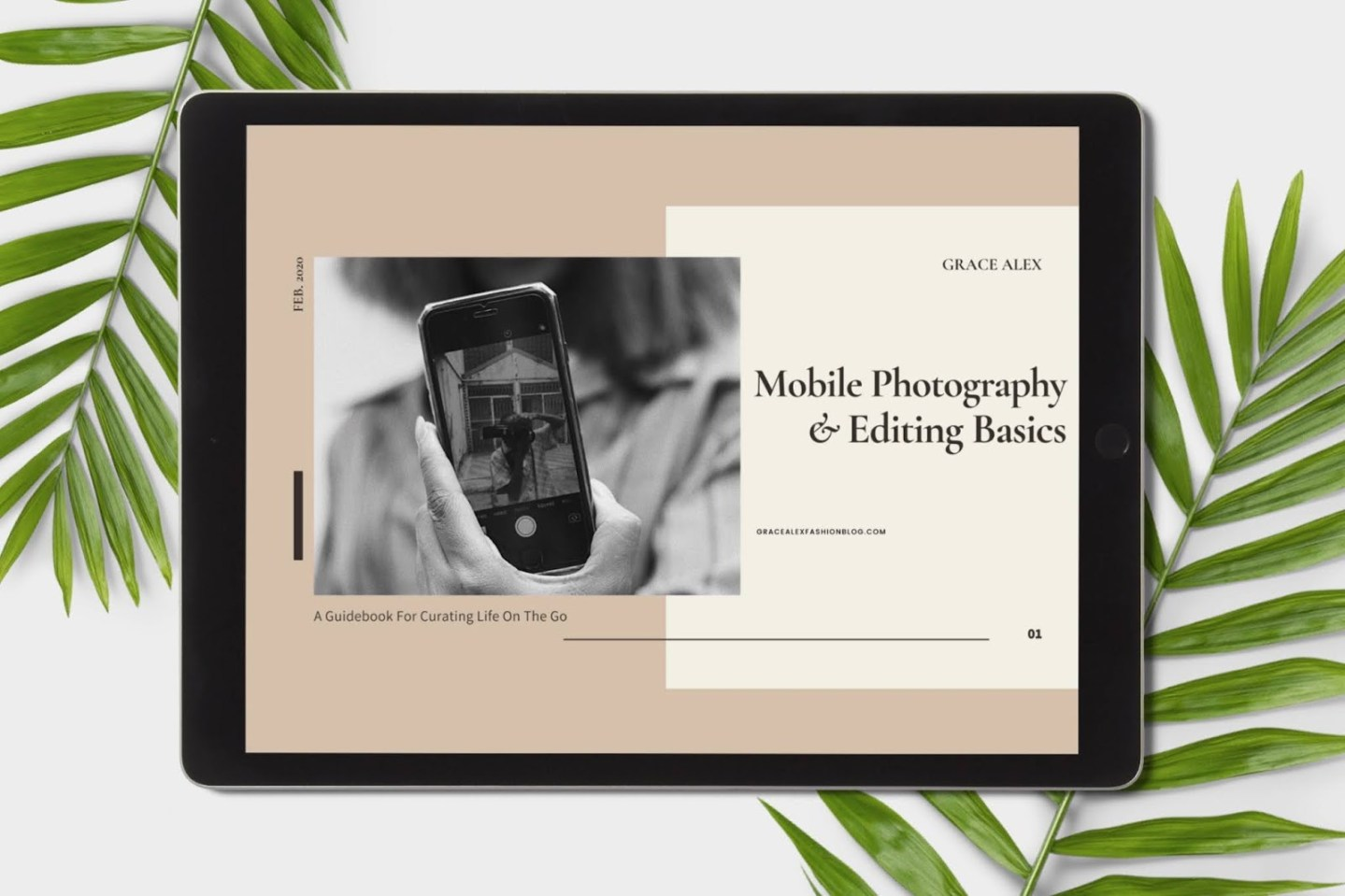 MOBILE PHOTOGRAPHY & EDITING BASICS E-BOOK